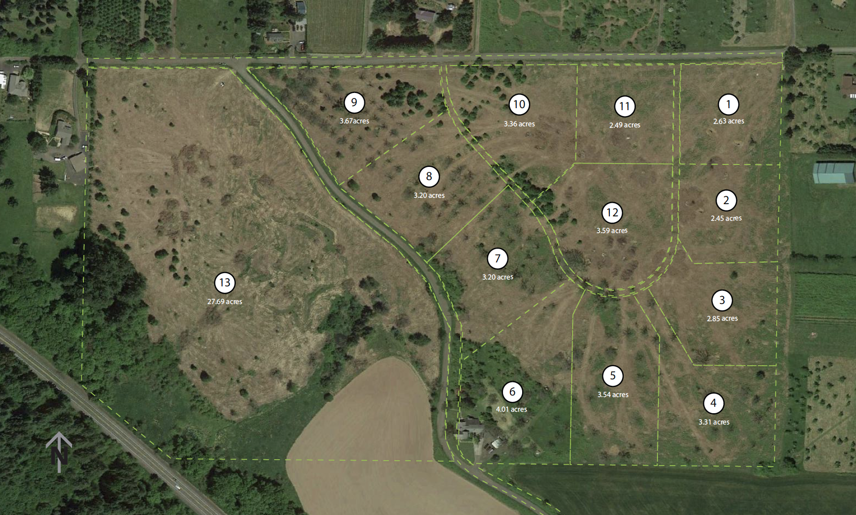 Maller-aerial-map