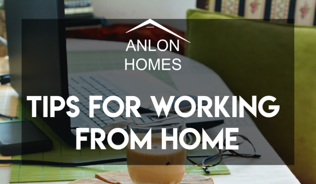 Working from home? Here are some helpful tips.