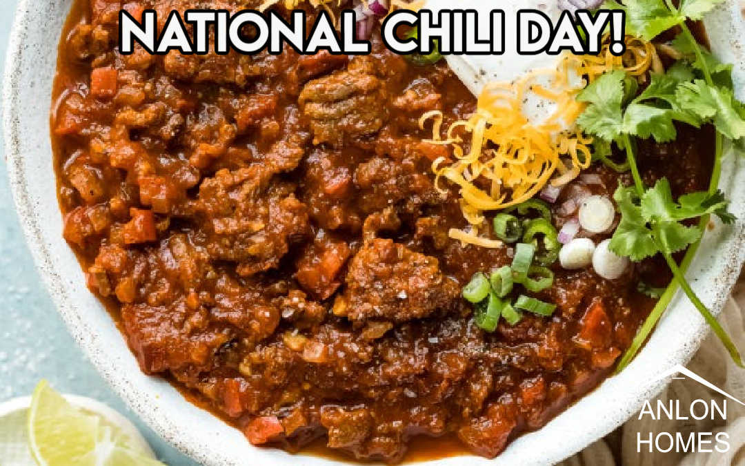 National Chili Day, Let's Celebrate!